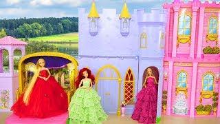 Princess Barbie Violet Magical Dance Castle Unboxing Assembly Kastil Putri Barbie Princesa Castelo