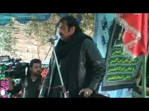 Zakir Ghulam Abbas Shadiwal at Babarloe khairpur mirs-