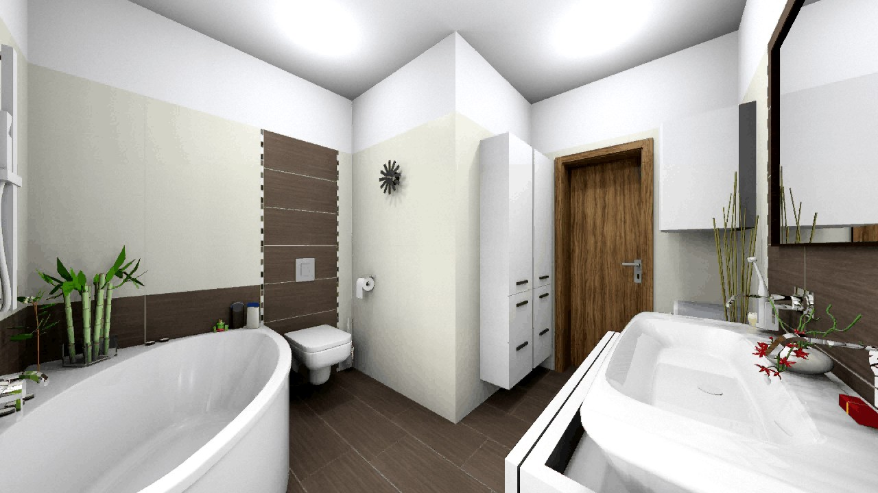L alakú fürdőszoba fürdőkáddal 4 8 négyzetméter között - YouTube