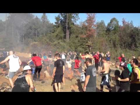 Gulf Coast Spartan Race In Perkinston MS. Nov 10 2012