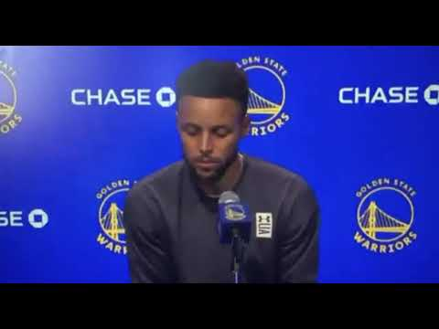 WATCH: Stephen Curry has hilarious reaction to reporter calling him ...