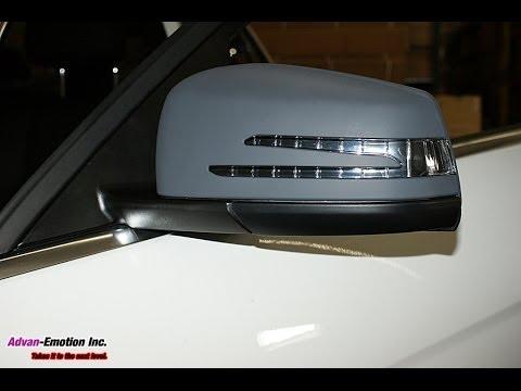 Mercedes Benz W204 Facelift Led Mirror Install Www Advan
