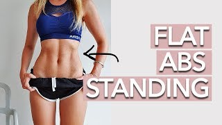 Standing Abs Workout - 10 MINUTE FAT BURN