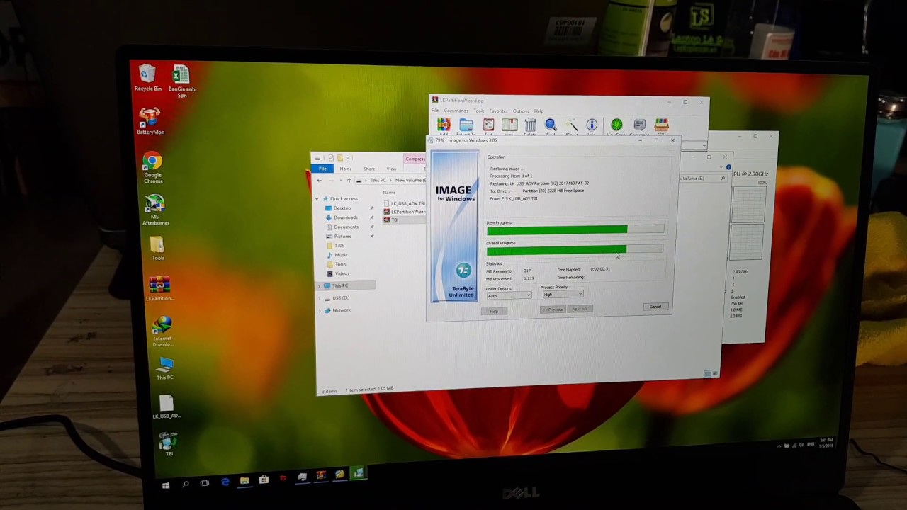 Hướng dẫn Tạo USB Boot Anh DV UEFI Legacy cực nhanh by Lãng khách