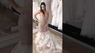 """Свадебное платье силуэта """"Русалка"""" в Новосибирске"""