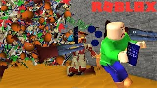 EPIC BSODA FIGHT WITH BALDI!! | The Weird Side of Roblox: Baldi's Basics Obby