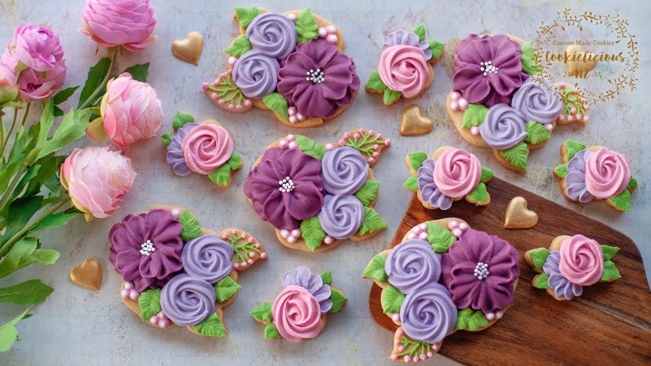 how to make soft icing flowers