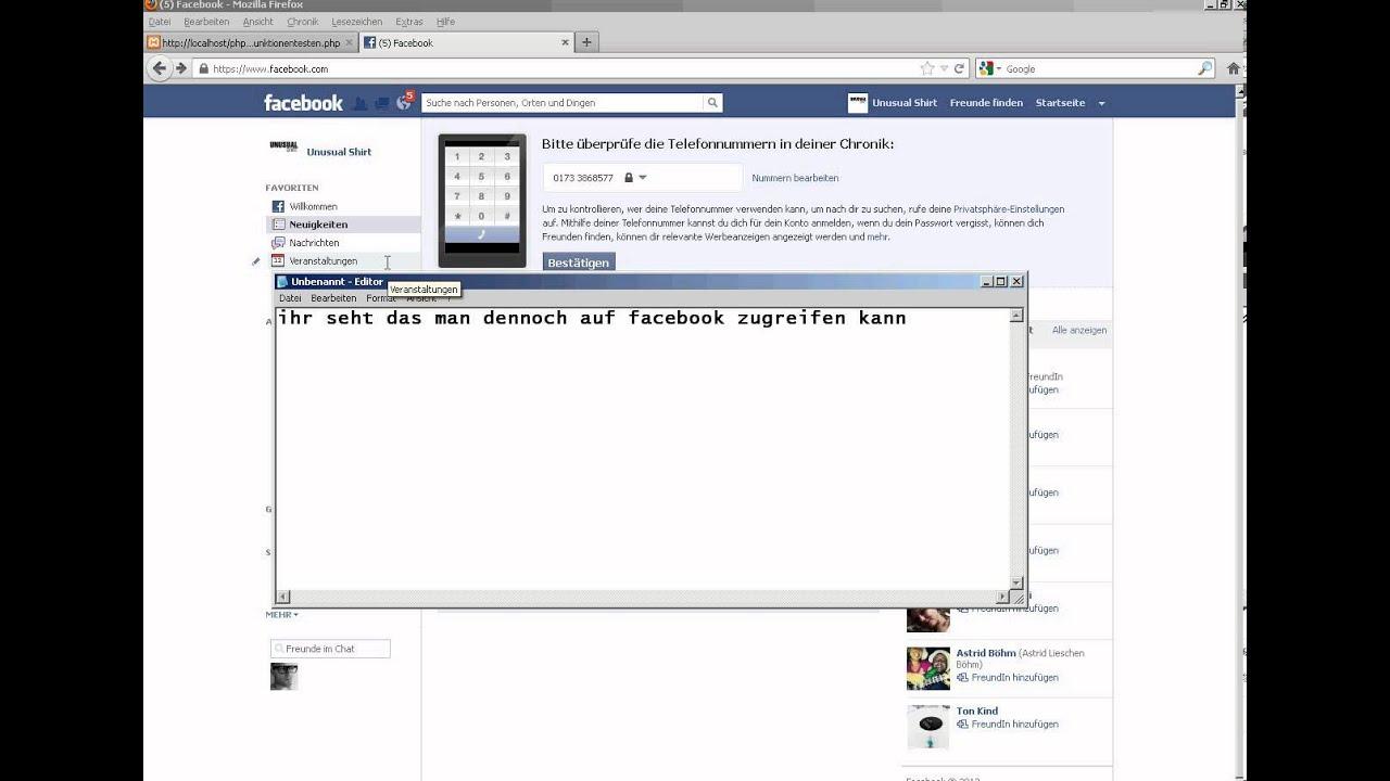 Facebook Sperre Umgehen Firewall Umgehen Youtube