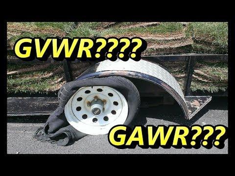 What's GVWR & GAWR ?????
