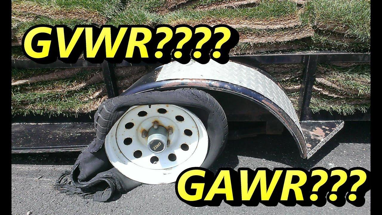 Gvwr Vs Gawr >> What's GVWR & GAWR ????? - YouTube