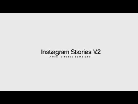 Instagram Stories Video Template - After Effects Template