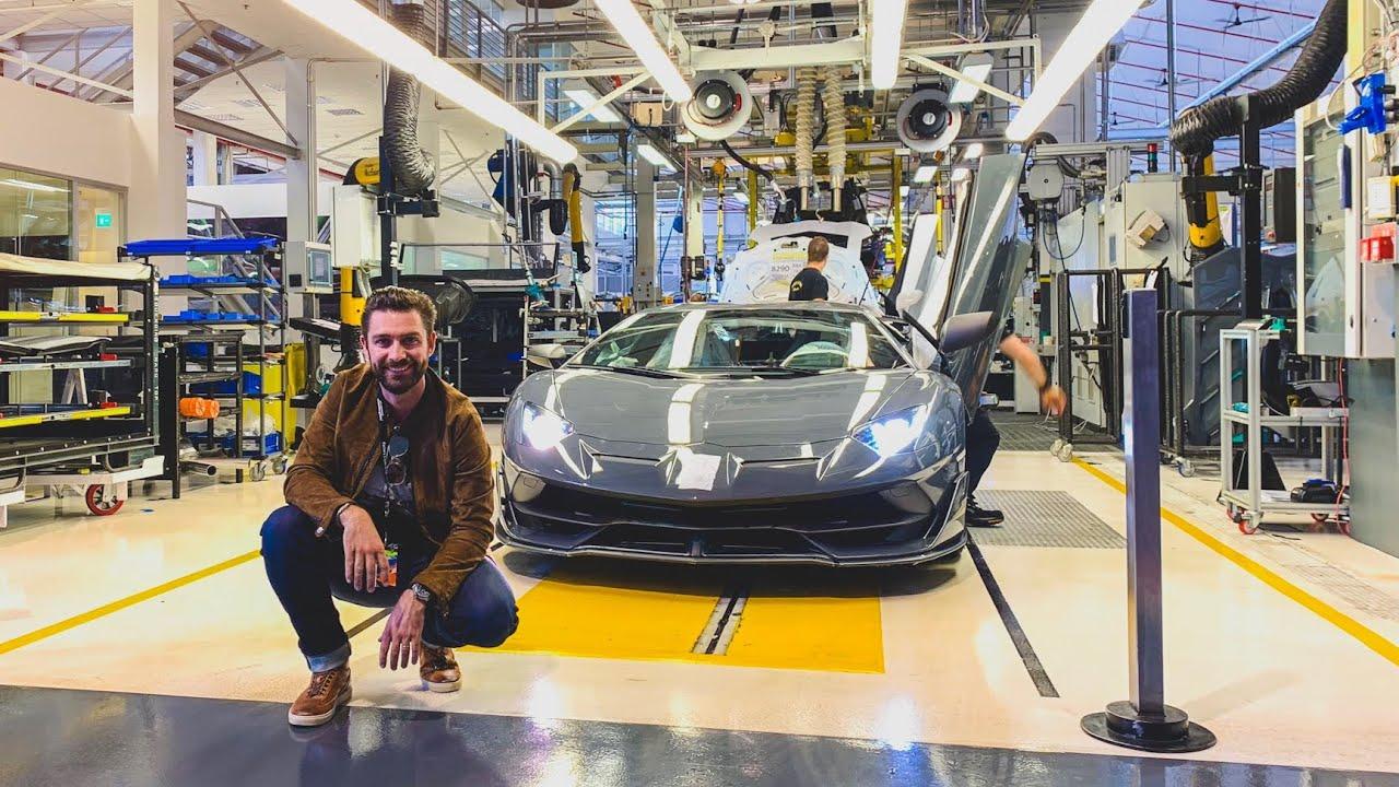 Factory Collection Of A Lamborghini Aventador S Youtube