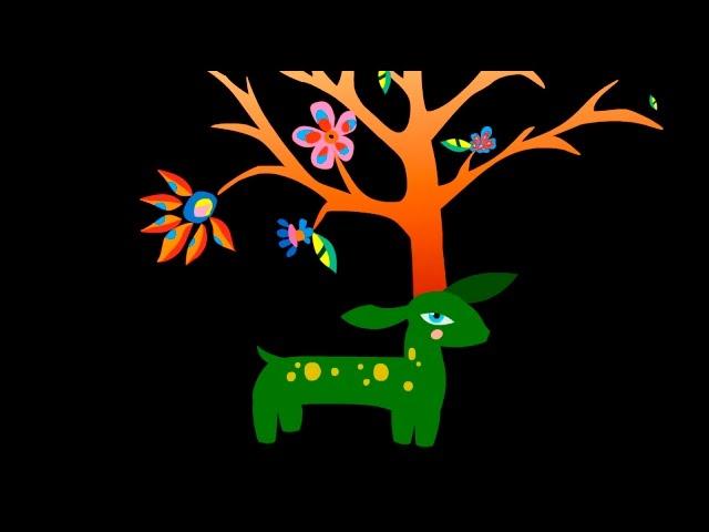 The Wish Oak grew on the Green Doeling's head - CHRISTMAS TALE