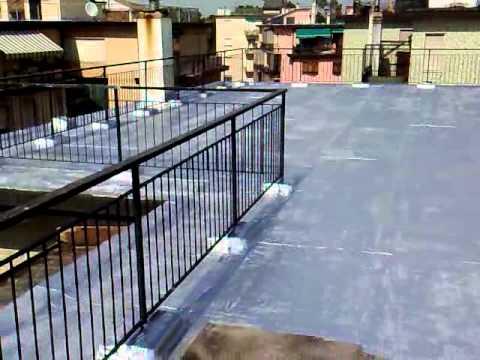 Vernice alluminio terrazza diemme arte casa youtube - Impermeabilizzante per terrazzi ...