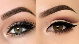 Simple Natural Winter Eye Makeup Tutorial