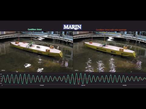 MARIN TKI Investigation – Yacht at comfort draft