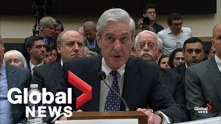 Robert Mueller FULL opening statement in first testimony before Congress