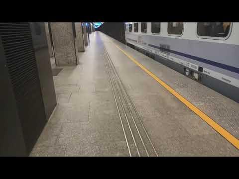 IC Kiev Express na dworcu Warszawa Centralna 12.09.2020r. + niemiły konduktor