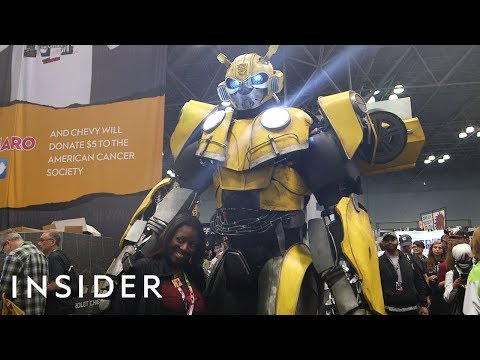 Meet The Man Behind This Life-Size Transformers Costume