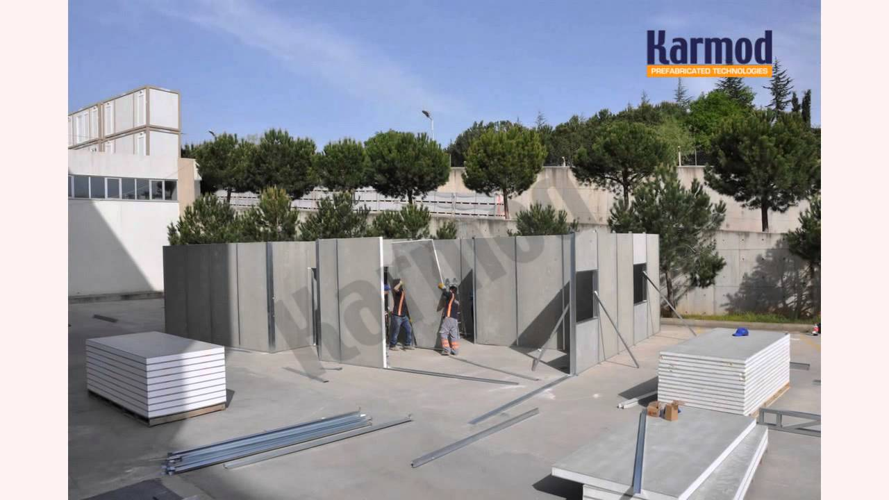 Modular Concrete Homes Prefab Houses Low Cost Modular Affordable Homes Youtube