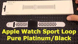 Apple Watch Sport Pure Platinum/Black 42mm Unboxing