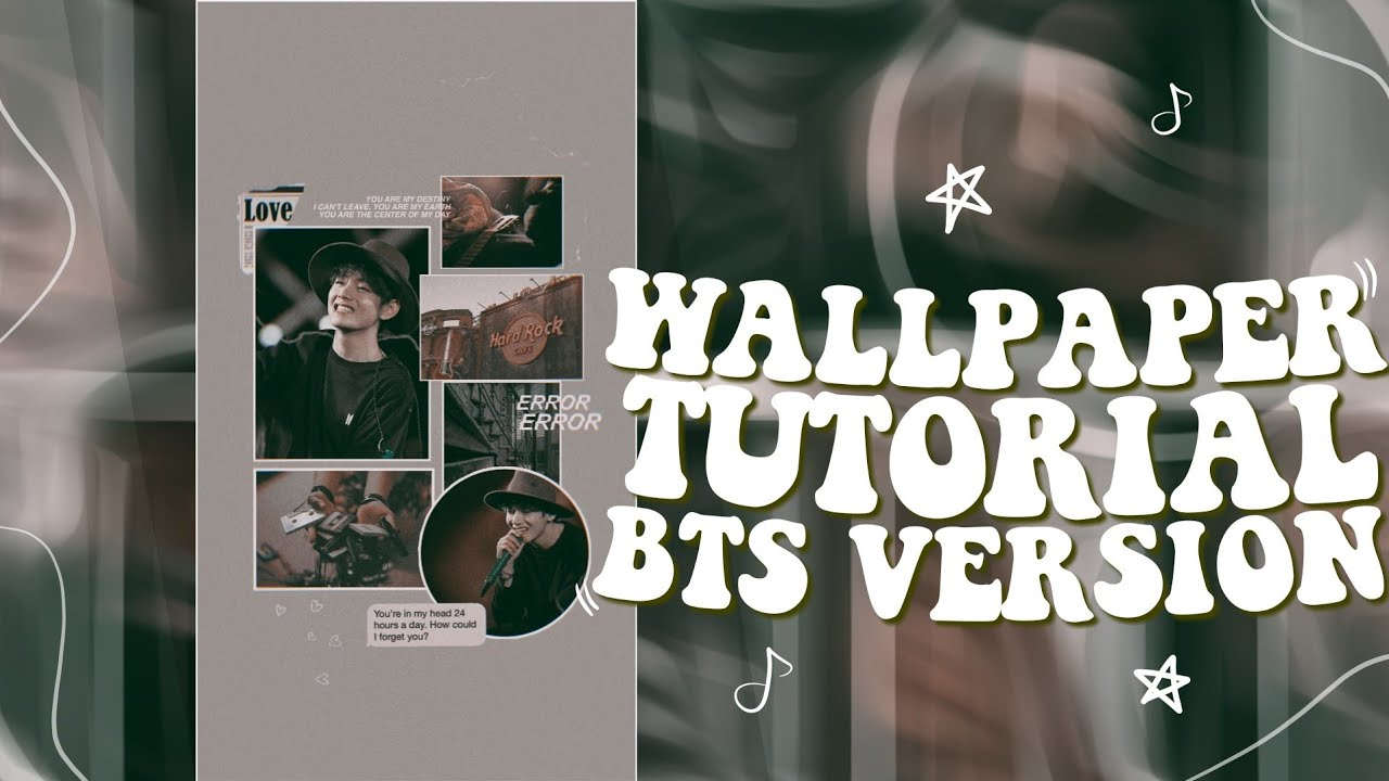 Watch Me Edit Kpop Aesthetic Wallpaper Picsart Youtube