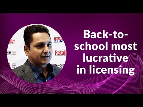 Back-to-school most lucrative in licensing