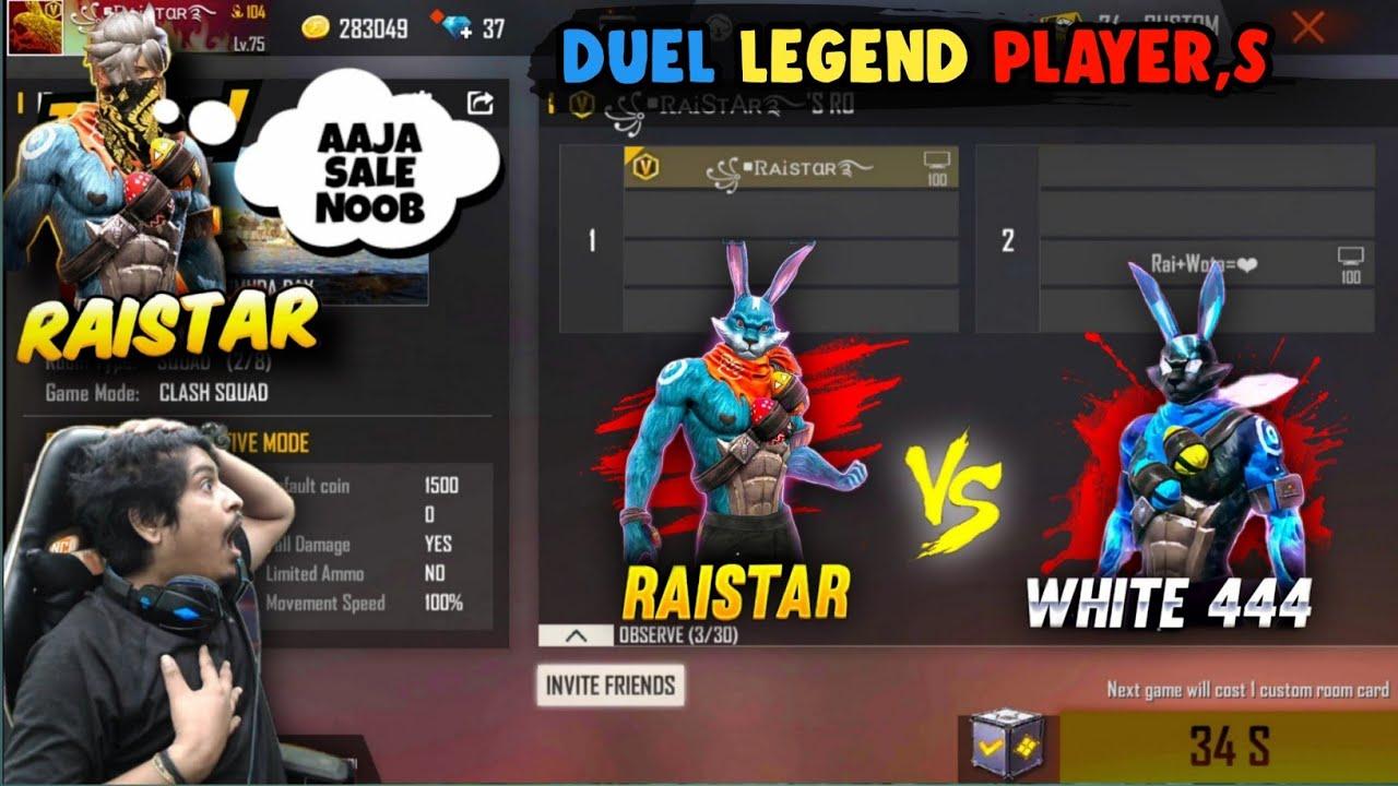 Download Raistar 🇮🇳 vs  Brazil 🇧🇷 player  , 😱 1 vs 1 In Custom Room , One tab King , Who Will Win ?