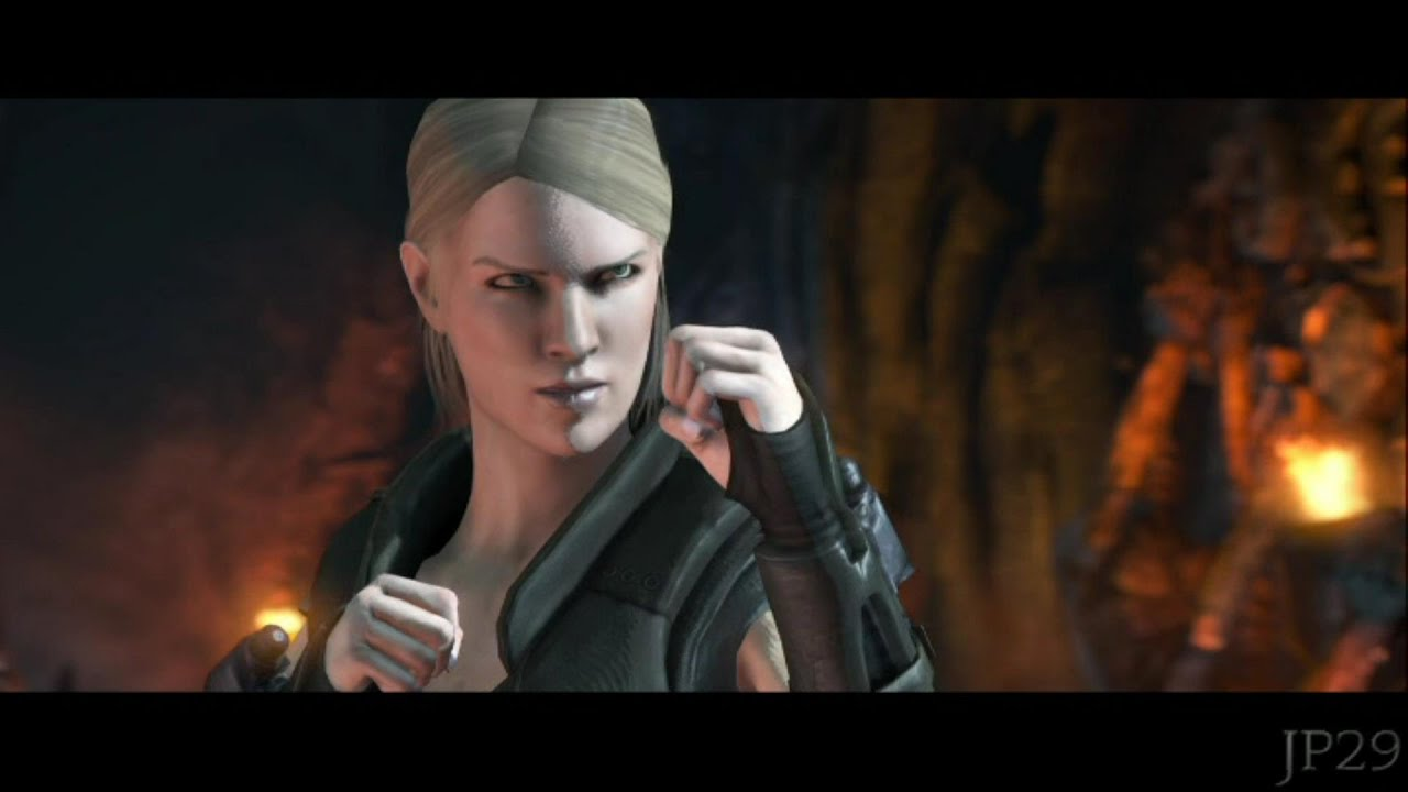 Mortal Kombat X Sonya Blade All Intro Dialogues Mkx