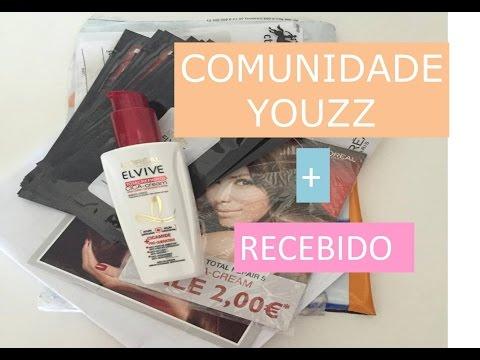 COMUNIDADE YOUZZ + RECEBIDO !