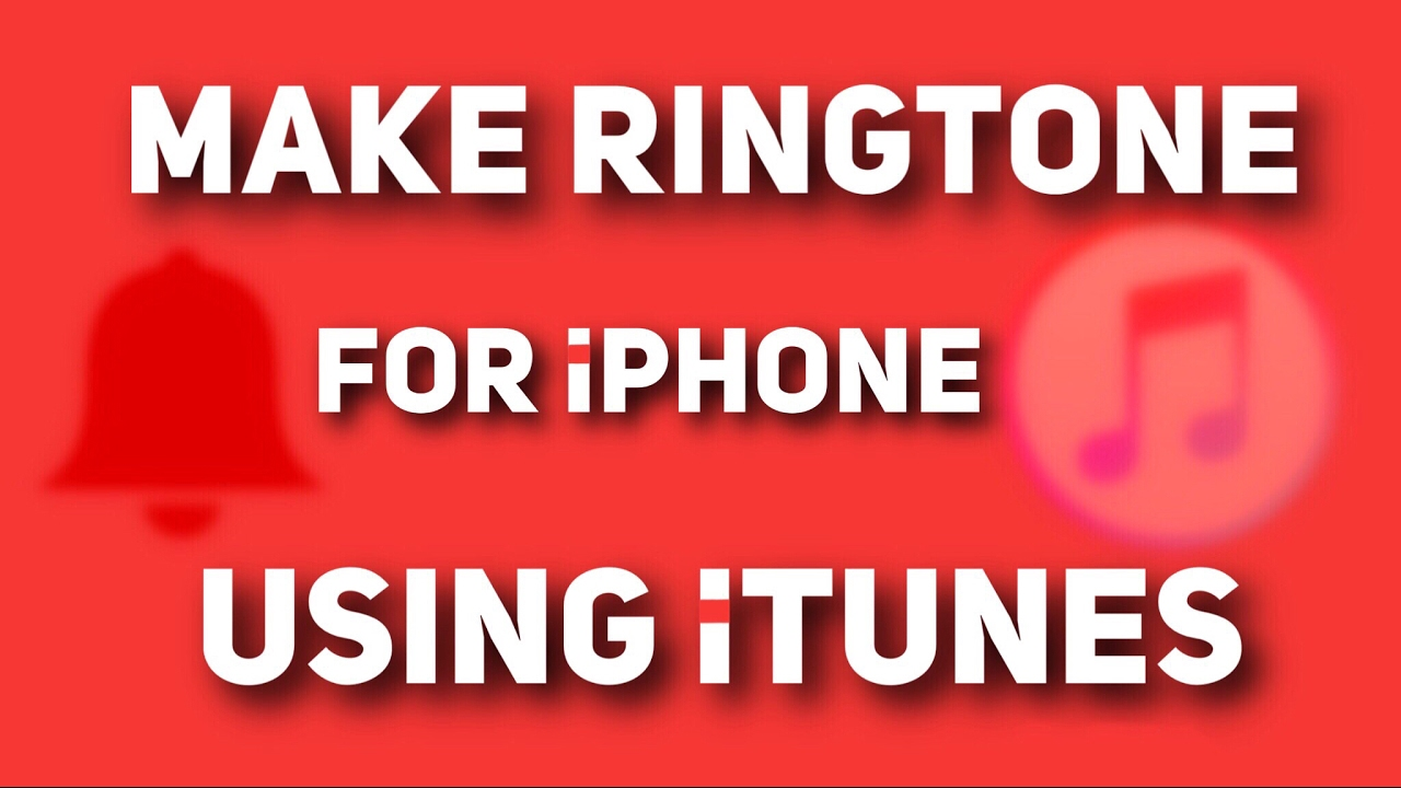 How to make youtube videos into ringtones for iphone