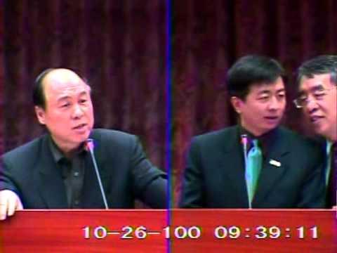 2011-10-26 蔣乃辛 發言片段, 第7屆第8會期教育及文化委員會第6次全體委員會