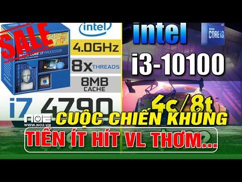 I3 10100 vs I7 4790   So Sánh Hiệu Năng RENDER Và Chiến GAME!! Ai Sẽ Dành Phần Thắng