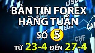 [Bản Tin Forex] - Bản Tin Forex Hàng Tuần Số 5 - Tin Tức Tuần Này Ảnh Hưởng Như Thế Nào Đến Forex?