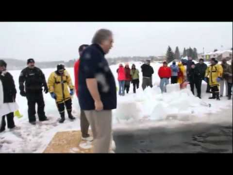 Mark and Walt - Polar Plunge 2011 Teal Lake Negaunee, MI
