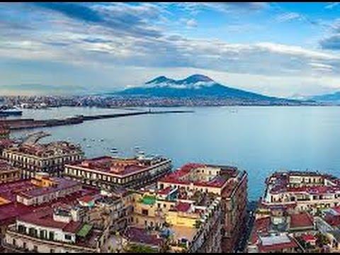 Golfo Di Napoli Veduta Aerea Youtube