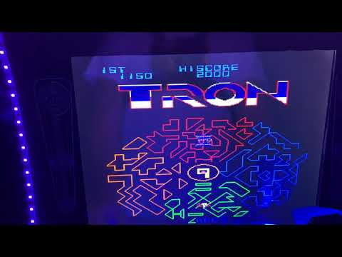 Arcade1up TRON with Pie3 B+ 128gb 9,000 games. from Lizardstyle 84