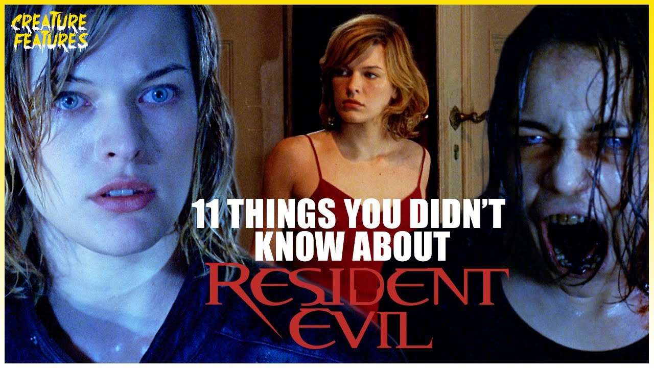 11 Things You Didn't Know About Resident Evil | Resident Evil (2002) | Creature Features