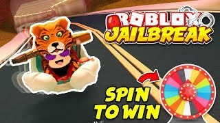 ROBLOX JAILBREAK SNOWMAN GLITCH TROLLING!! | SPIN TO WIN EVERY SPONSOR! | 🔴 ROBLOX LIVE