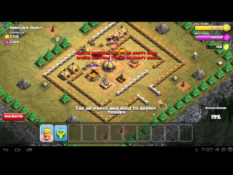 Clash of Clans Immovable Object Guide & 3 Star Walkthrough