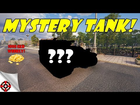 World of Tanks - MYSTERY TANK! (Name the tank - win 1000 gold) Ep. 2