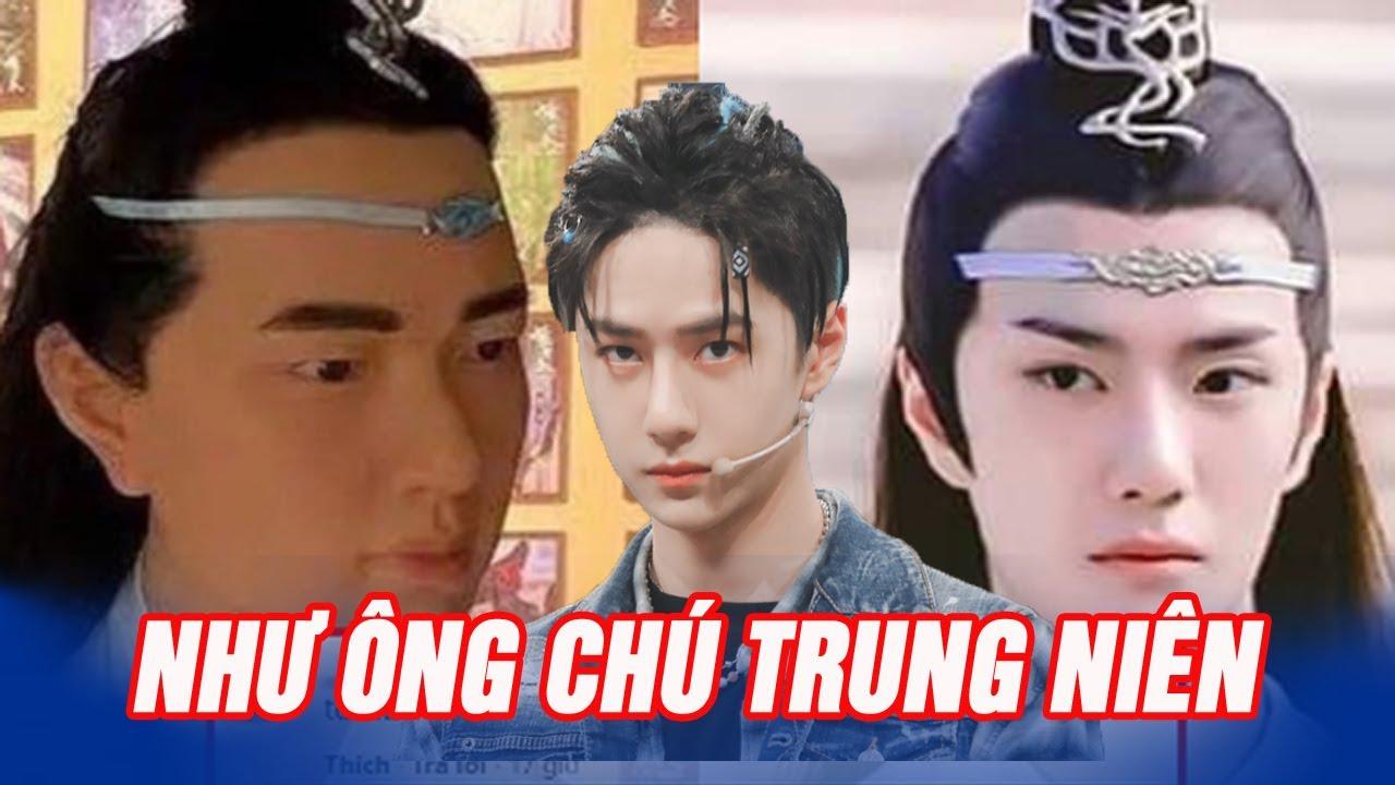 Fan khóc thét với tượng sáp Lam Vong Cơ (Vương Nhất Bác) như ông chú trung niên, hao hao Dạ Hoa