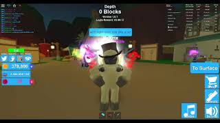 ROBLOX MINING SIMULATOR: 5 BUNNY EARS FOR 1 LIGHT DOMINUS?!