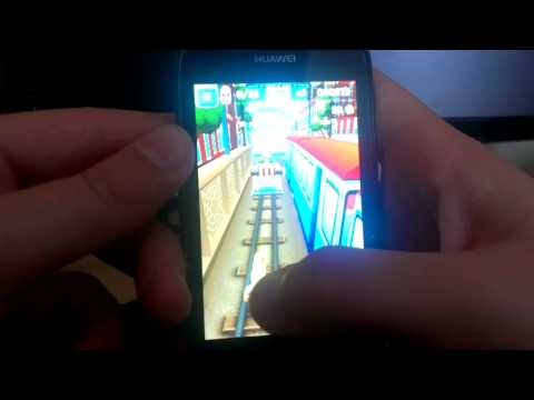 Huawei ascend y201pro subway surf and temple run2