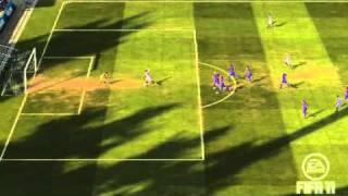 Fifa 11 Rayo vallecano  vs Huesca gol amagando