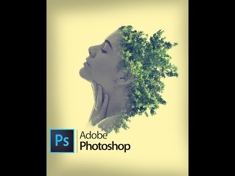Tutorial Double Exposure Effect | photoshop tutorial thumbnail