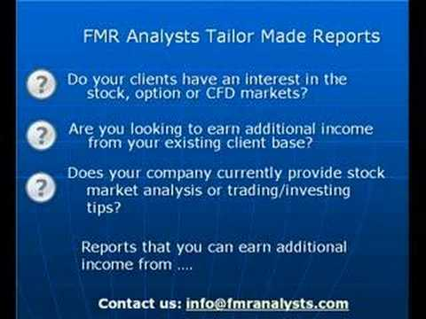 FMR Analysts Report