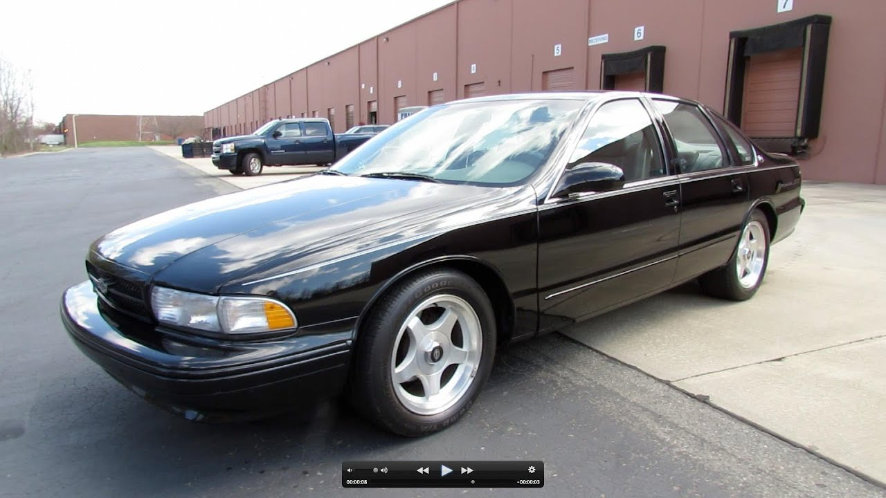 1996 Chevrolet Impala Ss Start Up Exhaust And In Depth