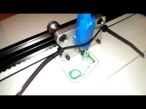 Alu H-Bot Speed And Precision Test