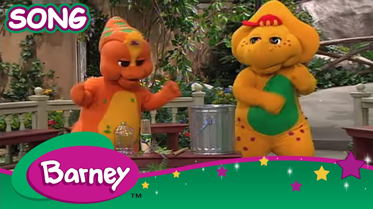 Barney Make Music With Anything Song Youtube